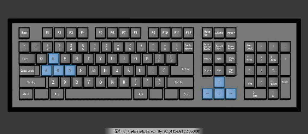 3D键盘ktv电气施工图图片