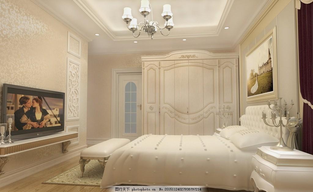 卧室镜头 简欧      唯美 炫酷 简约 装修 欧式 暖色系 木地板 设计