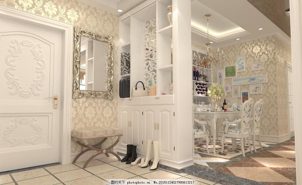 餐厅 玄关 简欧 唯美 炫酷 客厅 简约 装修 暖色系 室内设计简欧风格