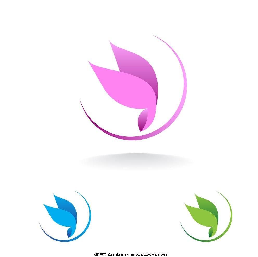 蝴蝶 标志 创意logo      图形logo 简约logo 大气logo 创意logo 设计