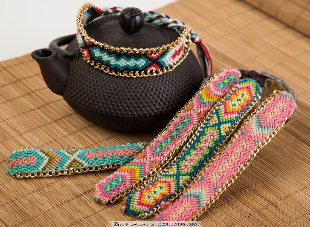 手编 腕带 绳编 工艺品 手工艺 中国风 名族风 手工编织 手编手链 绳