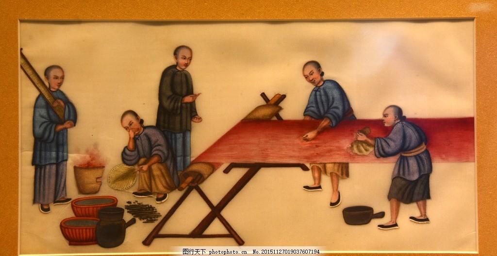 古代人物 人物画 壁画 绘画 油画 风景画 陶瓷画 中国风 织丝 设计