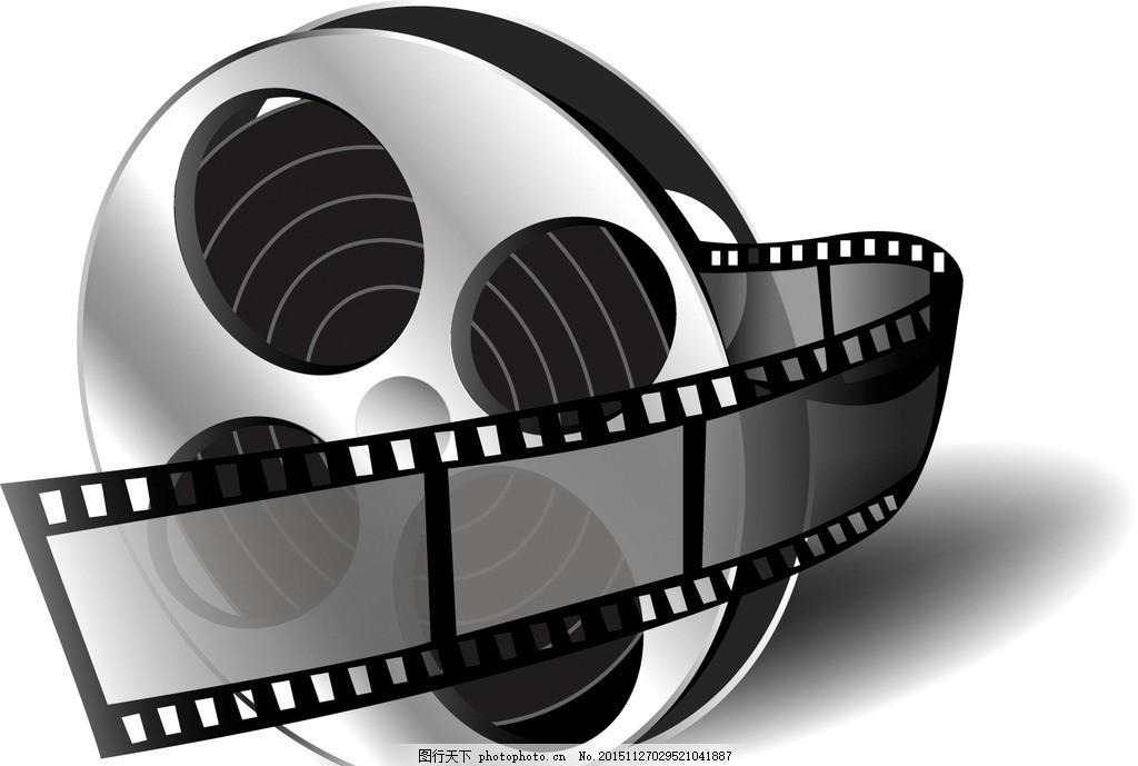 电影海报 放映机 胶卷 复古 放映厅 电影宣传 影视 影视素材 设计