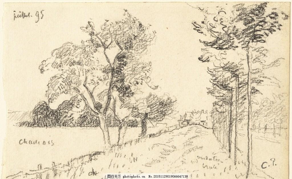 素描 风景画 素描风景 风景素描 速写 素描欣赏 素描艺术 铅笔画 素描