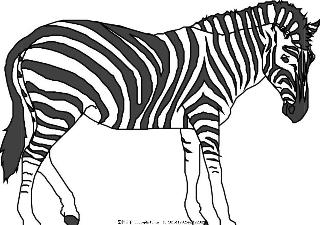 鼻子 眼睛 腿 尾巴 儿童 卡通 绘画 绘本 插画 漫画 矢量图 野生动物