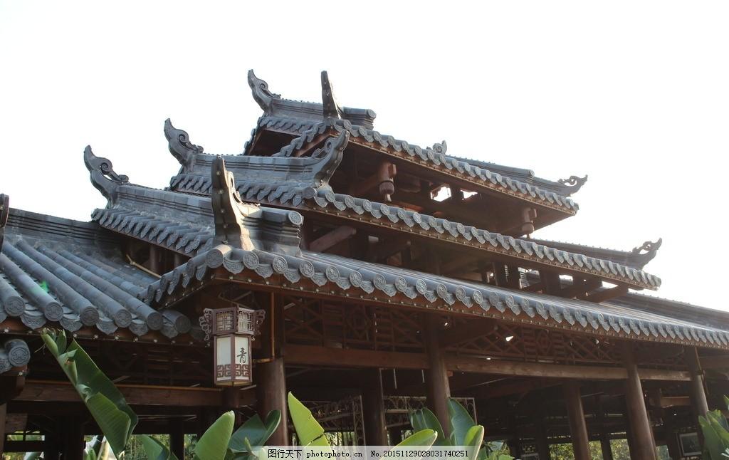 古楼 飞檐 古建筑 古老 建筑 木结构 旅游摄影 摄国内旅游 传统建筑