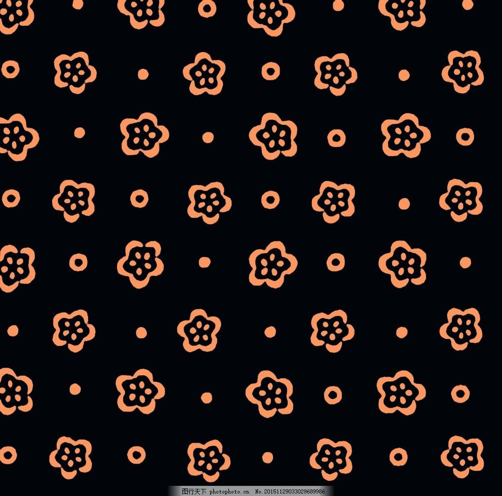 数码花型 时尚 服装 设计 数码印花 设计 psd分层素材 psd分层素材