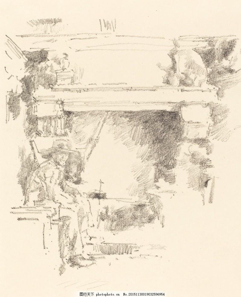风景素描 风景画 素描风景 速写 素描欣赏 素描艺术 铅笔画 素描素材