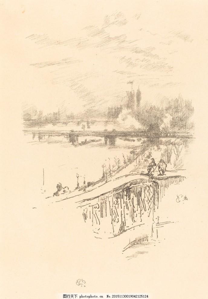素描风景 速写 素描欣赏 素描艺术 铅笔画 素描素材 绘画素材 风景