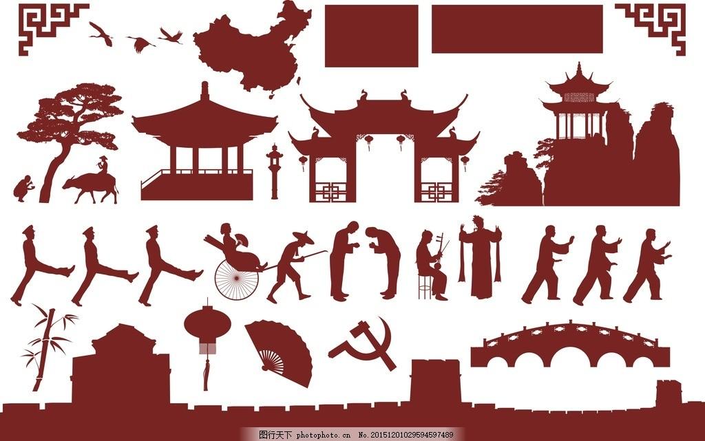 古典花边 古典花纹 古典图案 仿古花纹 花纹 古代花纹 底纹 中国建筑