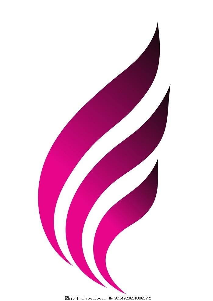 羽毛 矢量 矢量图制作 cdr 设计 个性化设计 图案 logo 图标 标志图标