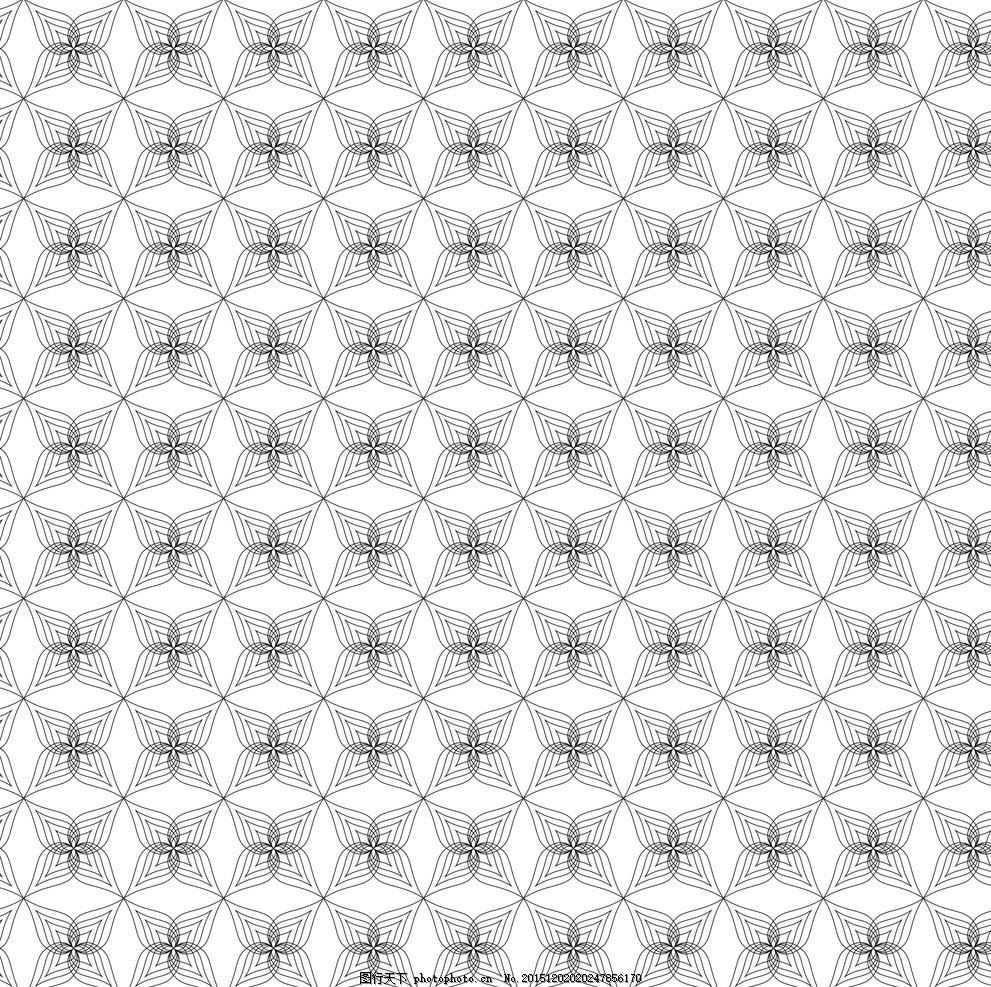 水滴花纹 水滴多边形 花形图案 个性几何 多边形 星形图案 圆形图案