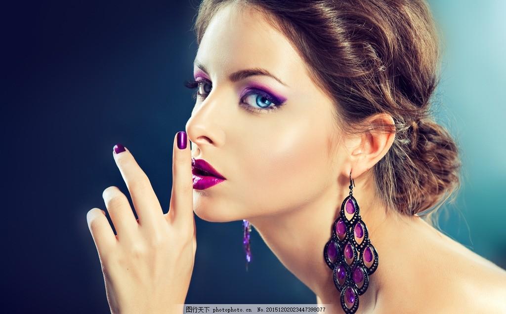 美容模特 美女 女人 漂亮 摄影 人物摄影