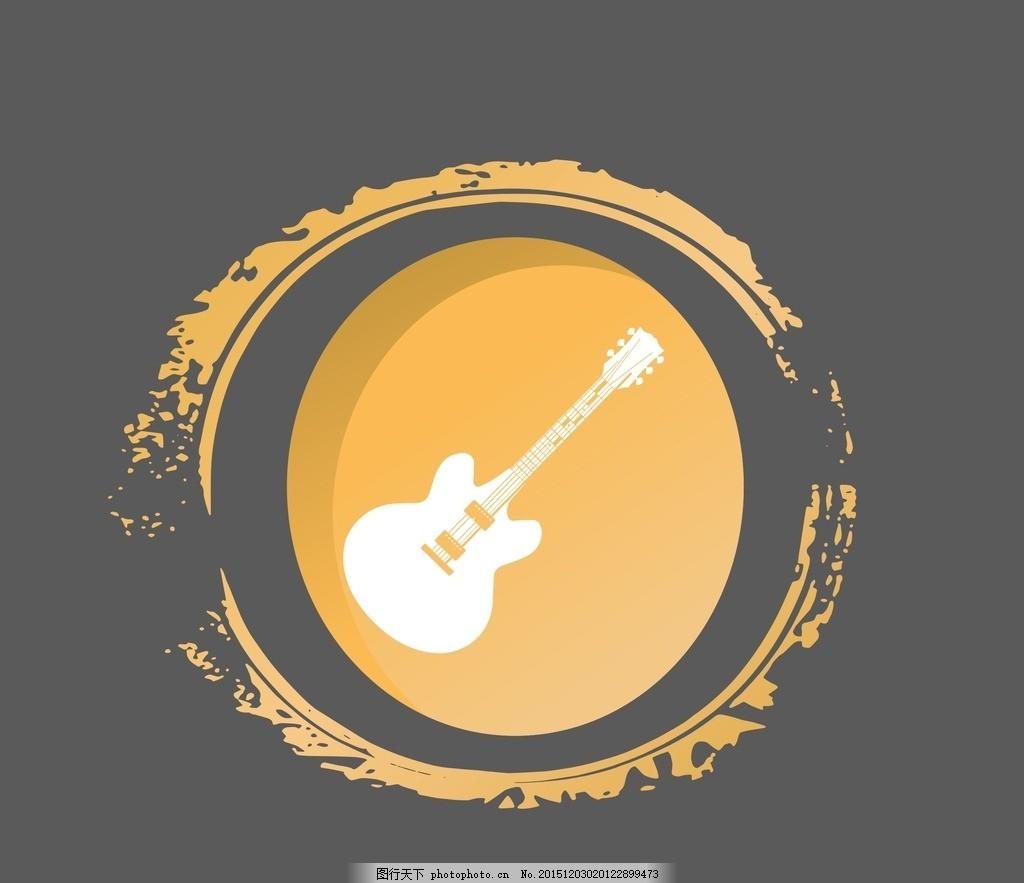 音乐logo 矢量 矢量图制作 个性化设计 图案 图标 标志 广告设计