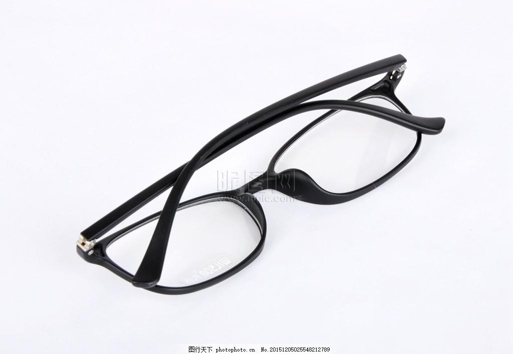 黑色眼镜架图片