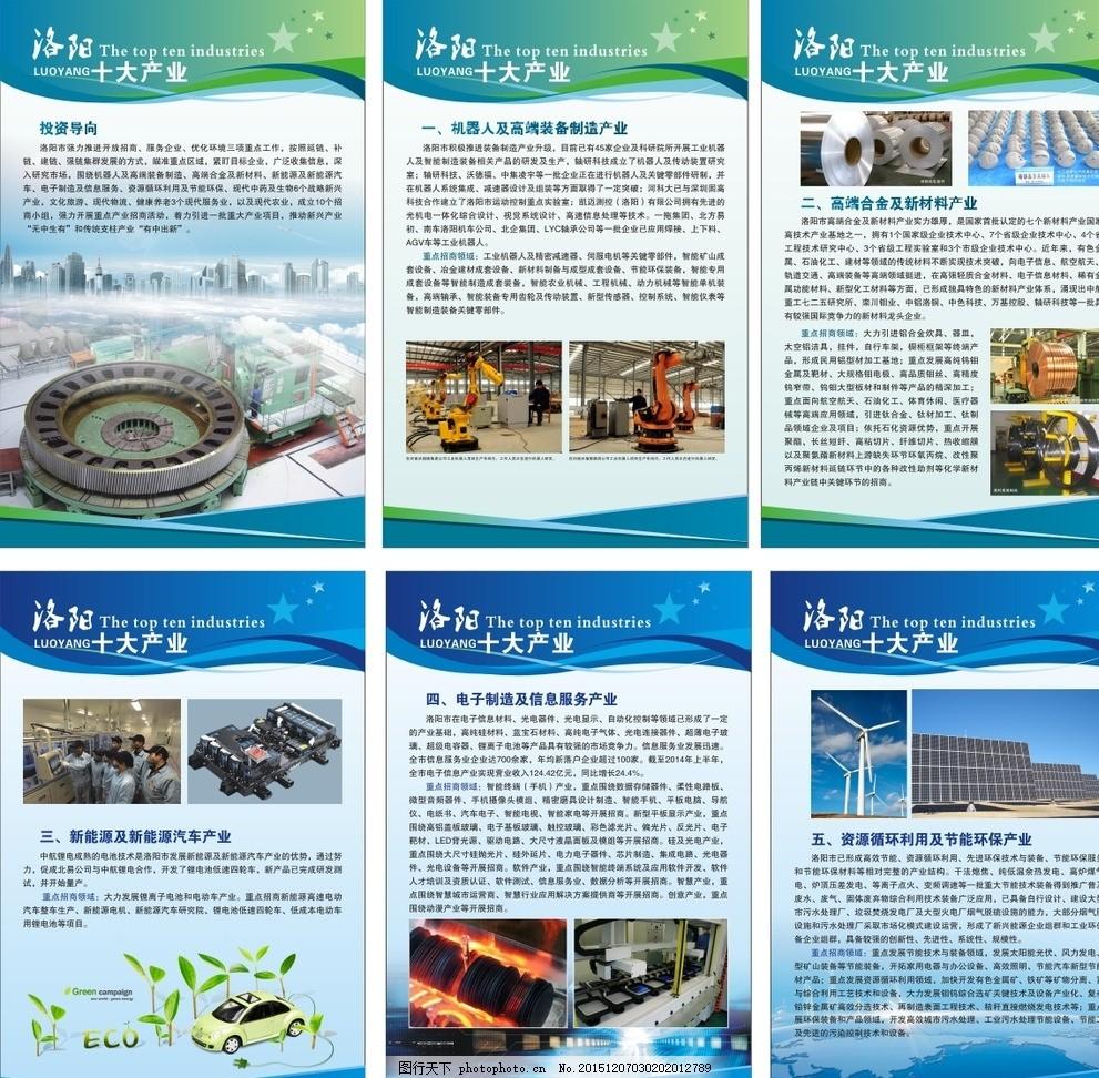 资源利用 工业海报 工业简介 图文编排 版式设计 设计 广告设计 展板