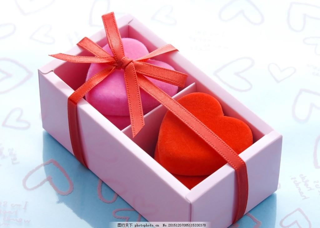 礼盒心形 心形盒子 盒子 丝带 棉花糖 qq糖 糖 爱心 心形背景 石头心