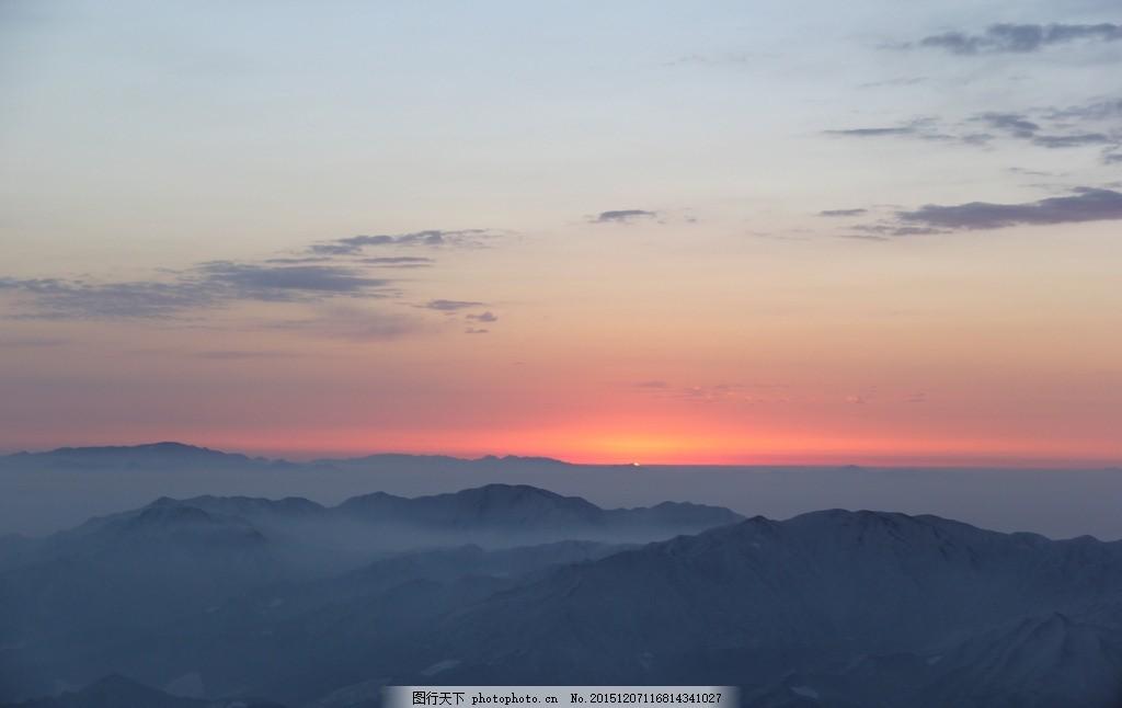 美景 黄山 景色 自然景观 摄影 日出日落 摄影 自然景观 自然风景 72d