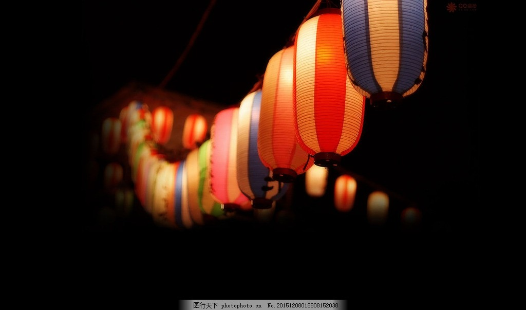 灯笼 背景 红色 黑色 喜庆 元宵节 节日 挂灯 中国风 背景素材 摄影