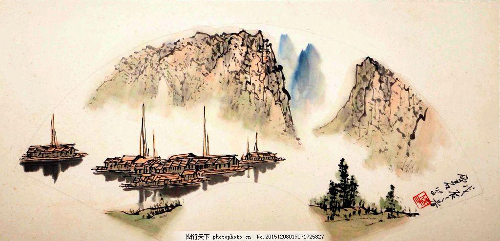 白雪石 山水 写意 水墨画 国画 中国画 传统画 名家 绘画 艺术 设计