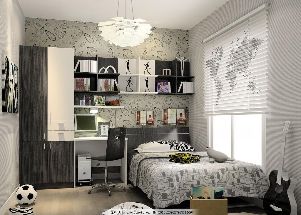 全屋定制 全屋家具定制 家装效果图 室内设计 儿童房 小孩房 室内设计