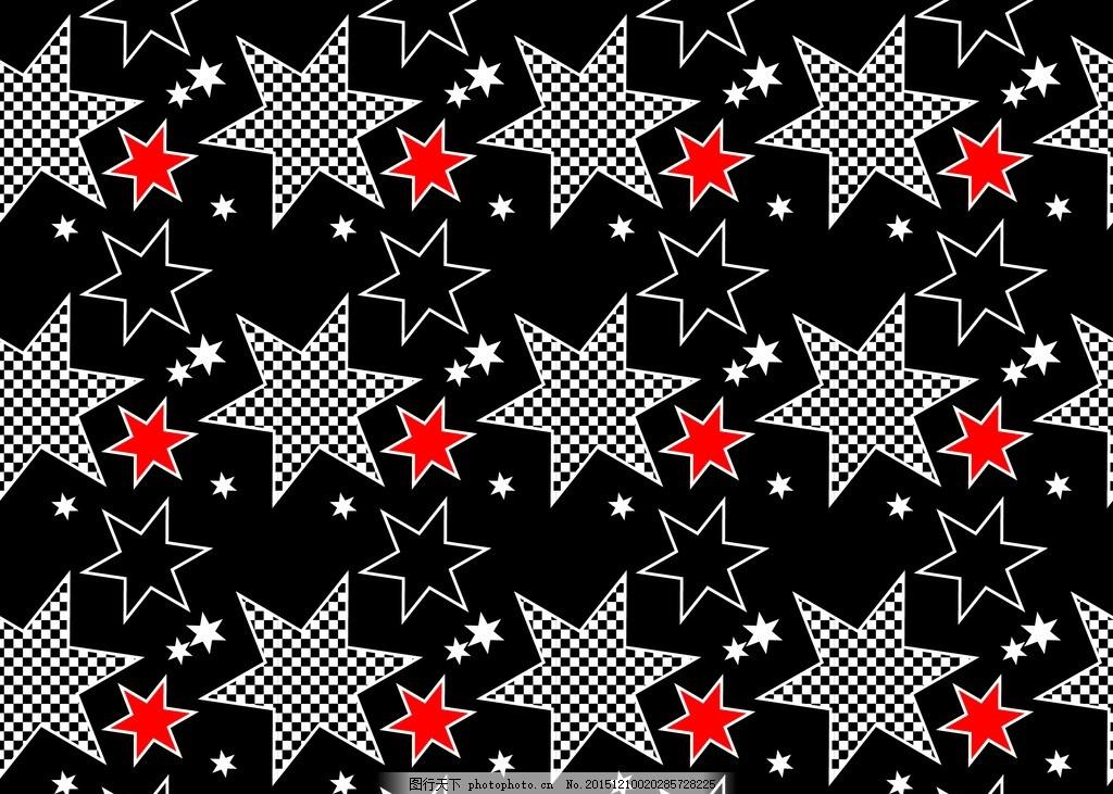 星星 背景 涂鸦 印刷 数码印花 潮流 印花 街头涂鸦 素材 黑色 设计