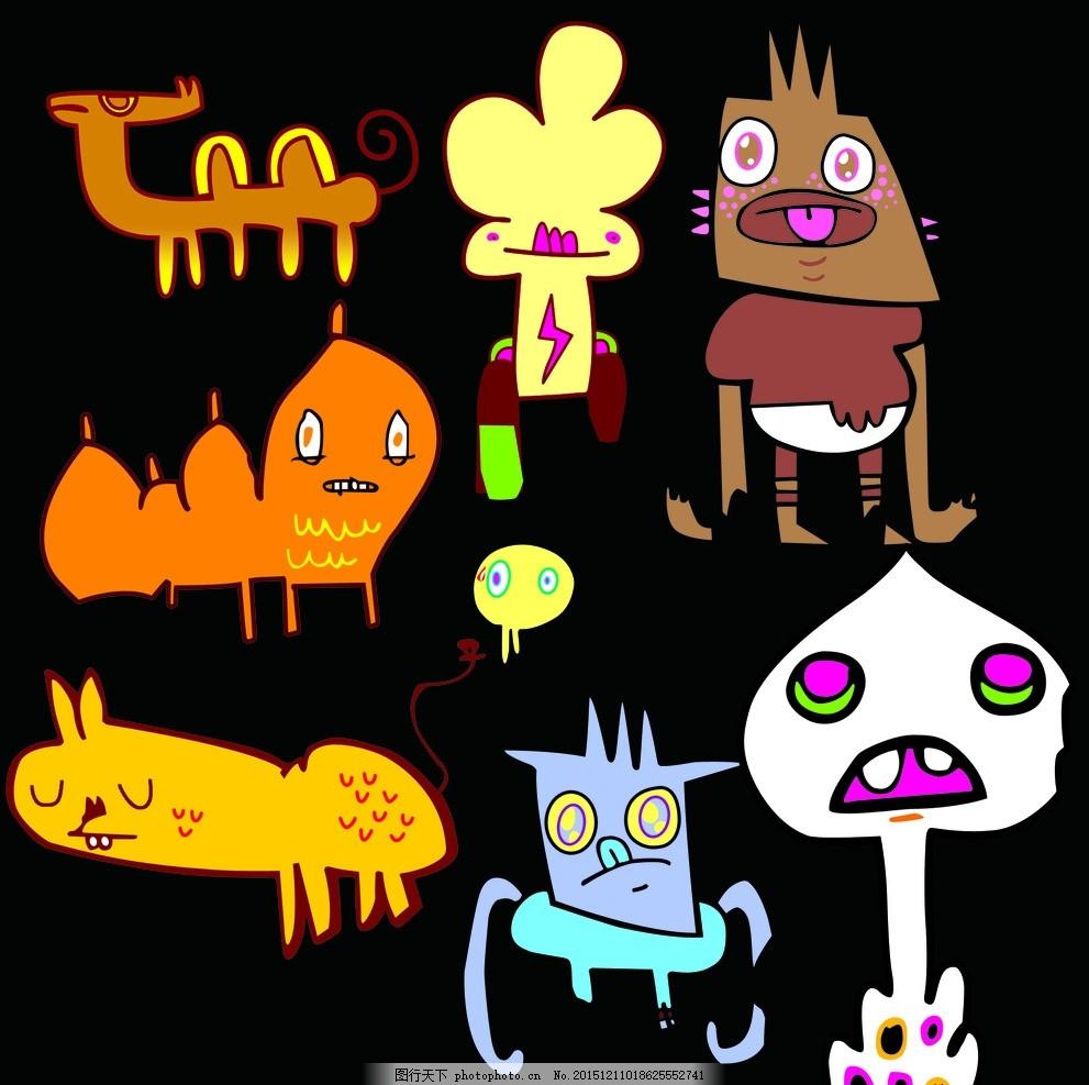 外星人怪物卡通