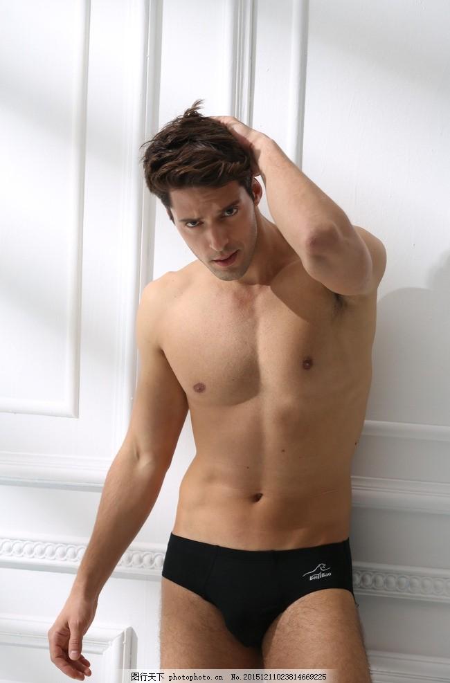 男模 男模特 动作 男模动作 内裤 摄影
