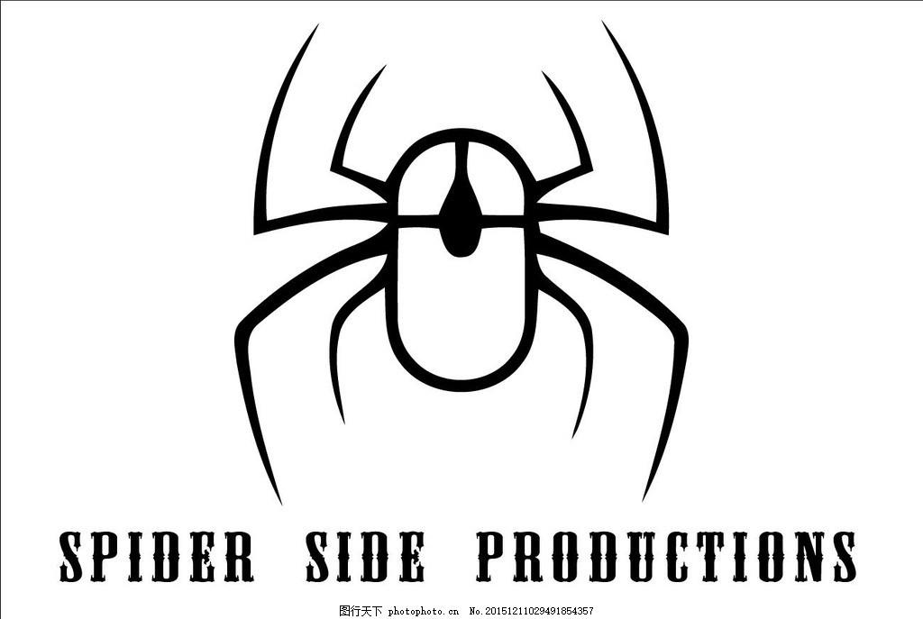 蜘蛛 鼠标 标志 蜘蛛 网络 鼠标 标志 科技 设计 广告设计 logo设计