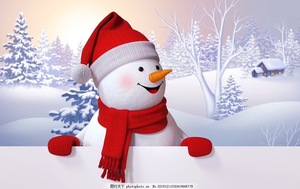 圣诞雪人 堆雪人 雪人 可爱雪人 雪景 圣诞 设计 文化艺术 节日庆祝
