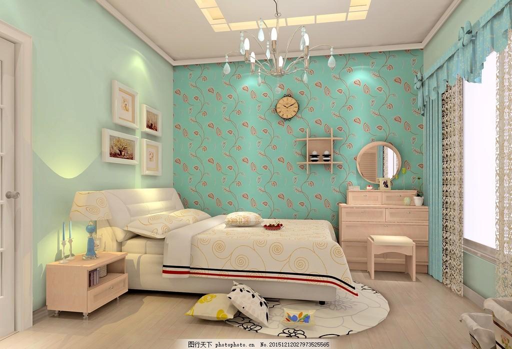 卧室 全屋定制 全屋家具定制 家装效果图 室内设计效果 装修设计