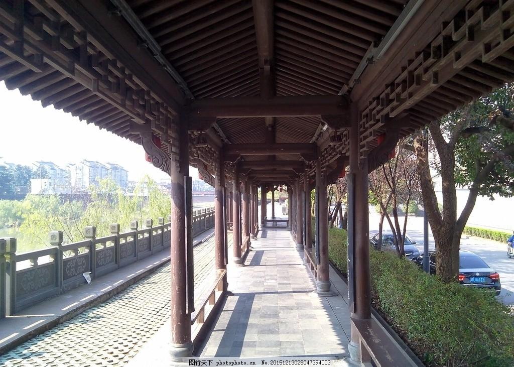 回廊 古回廊 古建筑 建筑 过道 走廊 摄影 建筑园林 建筑摄影 72dpi