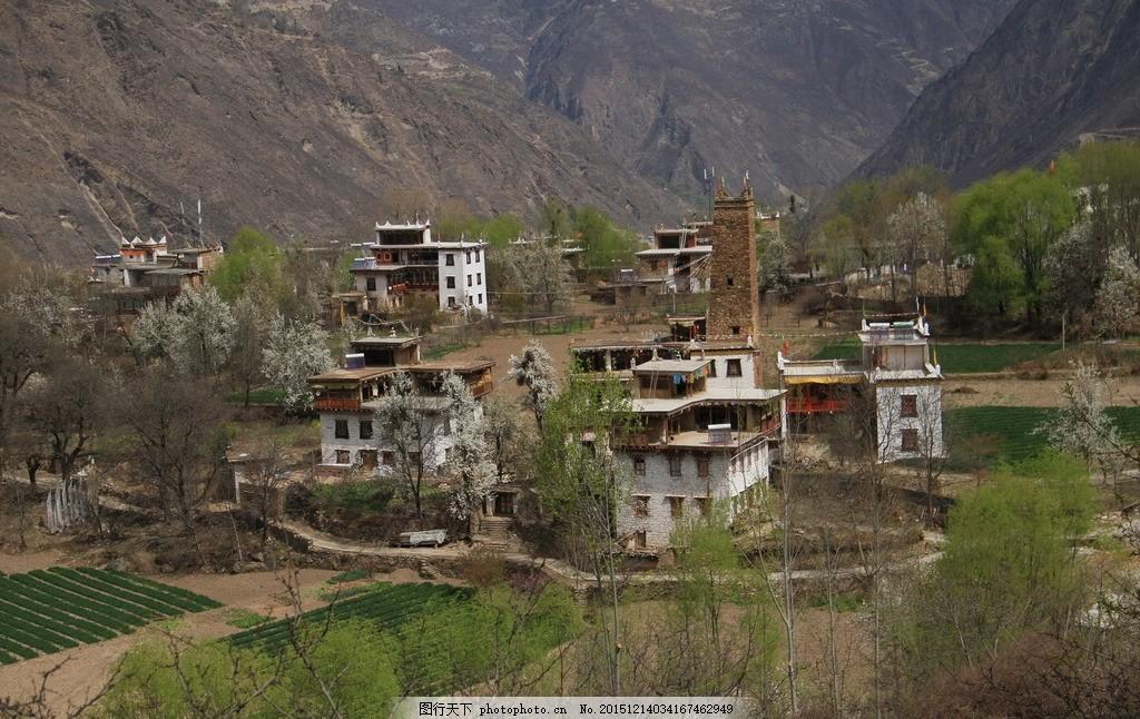 游 丹巴藏寨 藏族 碉楼 藏碉 藏族民房 藏族建筑 摄影 旅游摄影 自然