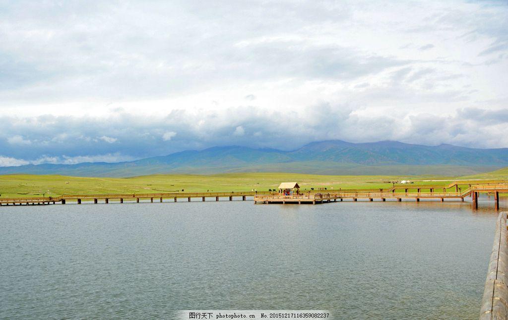 新疆天鹅湖 美景 大自然 蓝天 白云 摄影 风景 自然景观