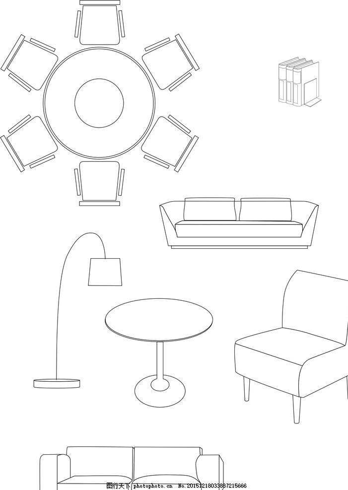 工程图 简笔画 平面图 手绘 线稿 701_987 竖版 竖屏