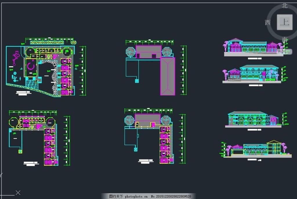 三层欧式风格幼儿园设计图