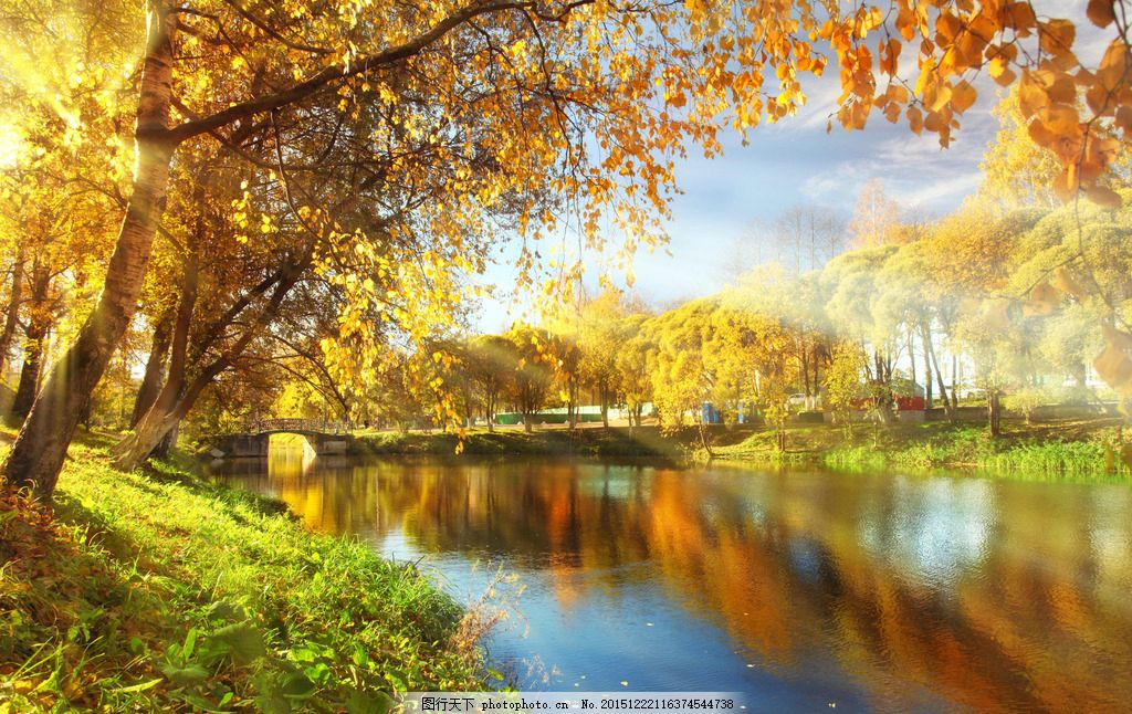 秋季风景唯美