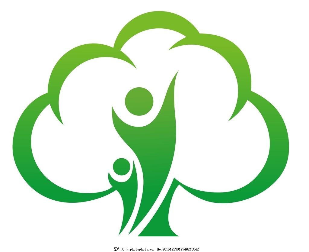 环保logo 矢量 矢量图制作 个性化设计 图案 图标 标志 广告设计