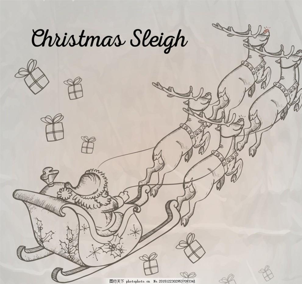 merry christmas 槲寄生 拐棍糖 拉旗 圣诞袜 圣诞树 铃铛 圣诞 麋鹿