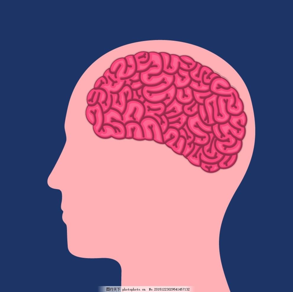 创意大脑 卡通 点子 动漫主意 创意思维 创新思维 头脑风暴 商务金融图片