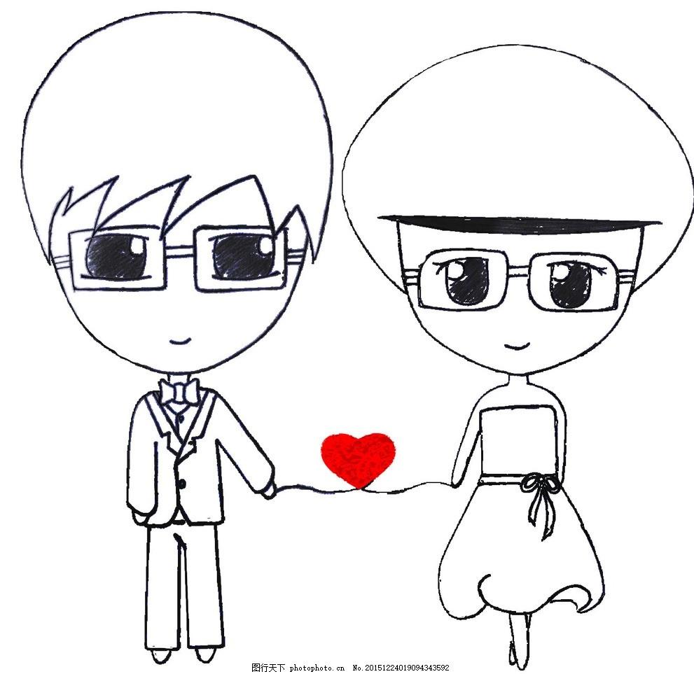 动漫 简笔画 卡通 漫画 手绘 头像 线稿 991_963