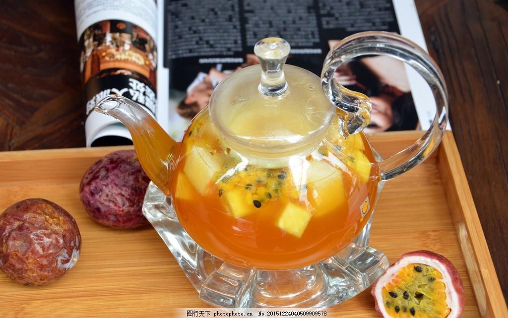奶茶 茶壶 青春蜜果茶 新鲜水果茶 奶茶海报 咖啡店 摄影