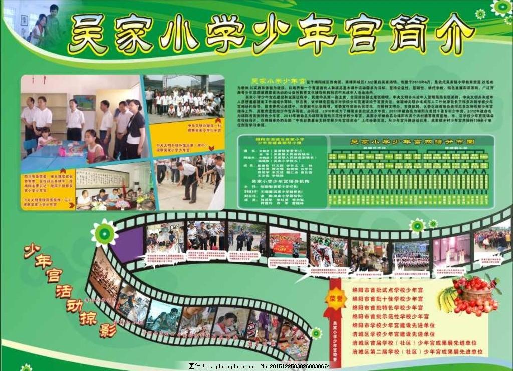 学校少年宫网络图 学校 少年宫 网络图      展板 模板 设计 广告设计
