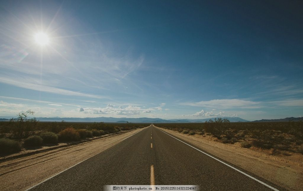 大道 公路 蓝天 白云 阳光 农田 天空 云彩 云层 农田风光 道路 交通