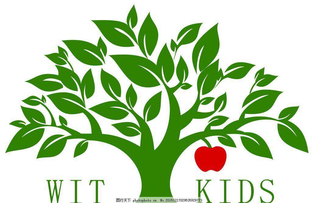 矢量树 苹果 苹果树 矢量图 树枝 设计 广告设计 广告设计 cdr