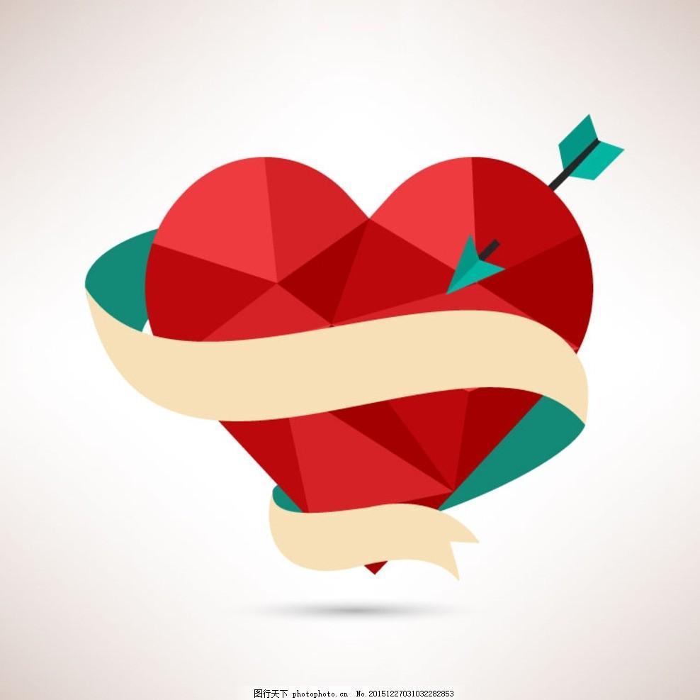 手绘爱心 情人节 情人节海报 约惠情人节 约会 约惠 情人节促销 浪漫