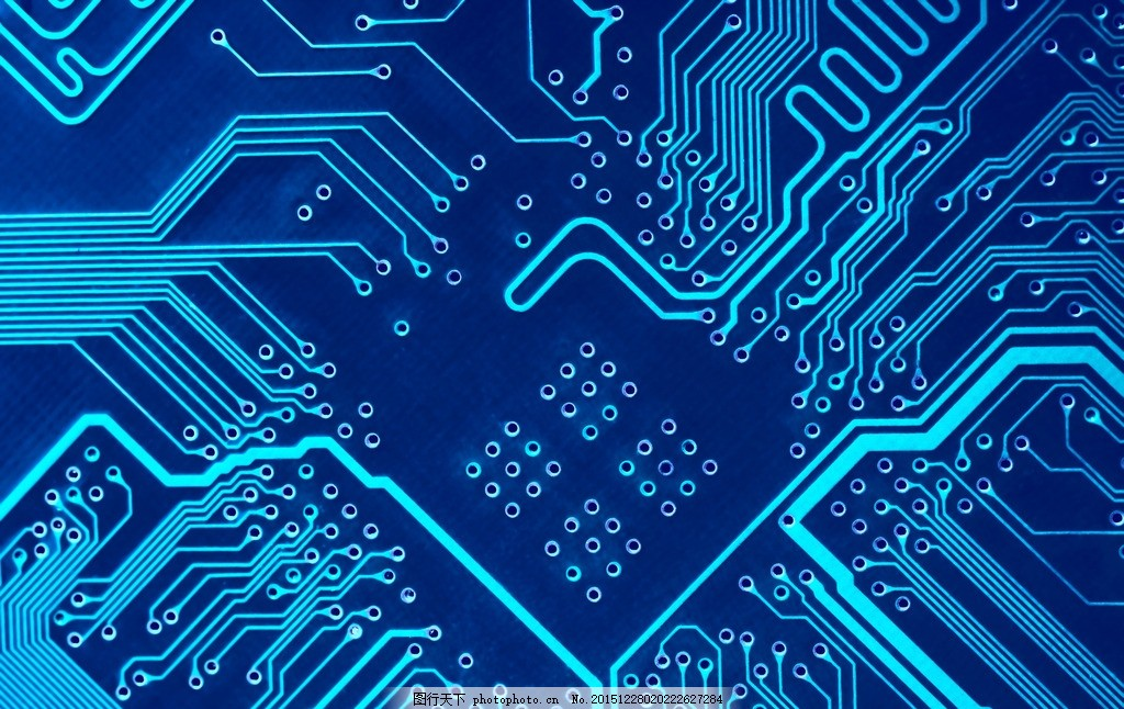 芯片背景 唯美 炫酷 科技 电子 集成电路 数码