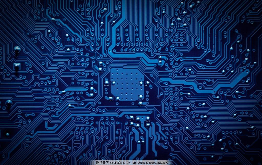 科技背景 唯美 炫酷 芯片 科技 电子 集成电路 背景 设计 底纹边框