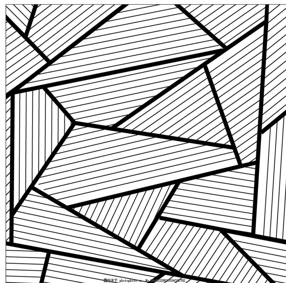 手绘几何海报素材