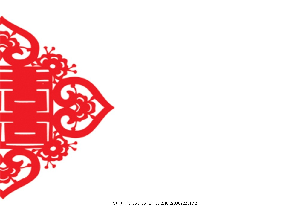 剪纸 结 中国结 红色 文化艺术 传统文化